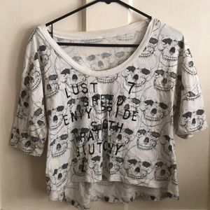 Tops - 7 Deadly Sins Dolman Top